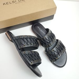 New Kelsi Dagger Leather Sandals